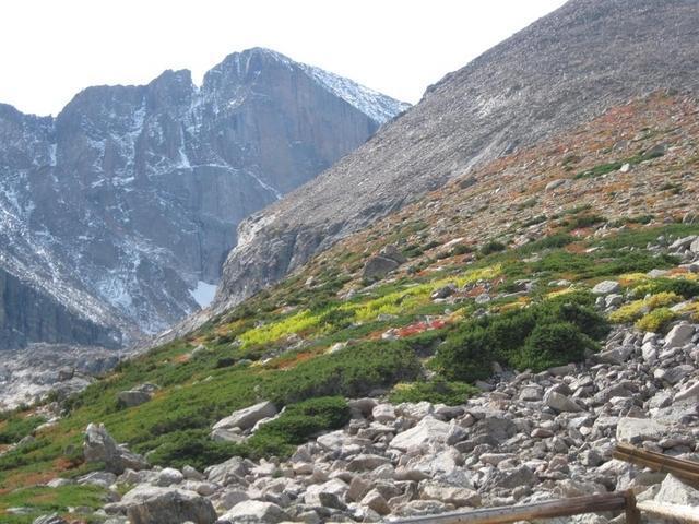 Teenager hiking solo rescued on Longs Peak