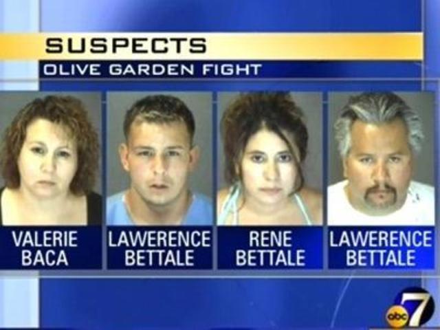 olive garden suspects - Olive Garden Denver