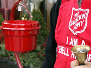 Man steals Salvation Army kettle from store