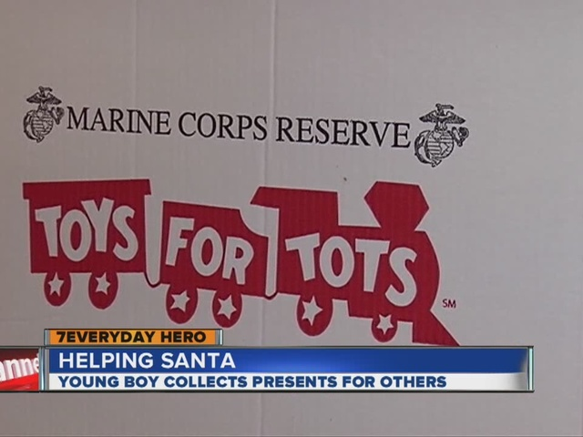 Young hero gives Christmas to other children - Denver7 ...