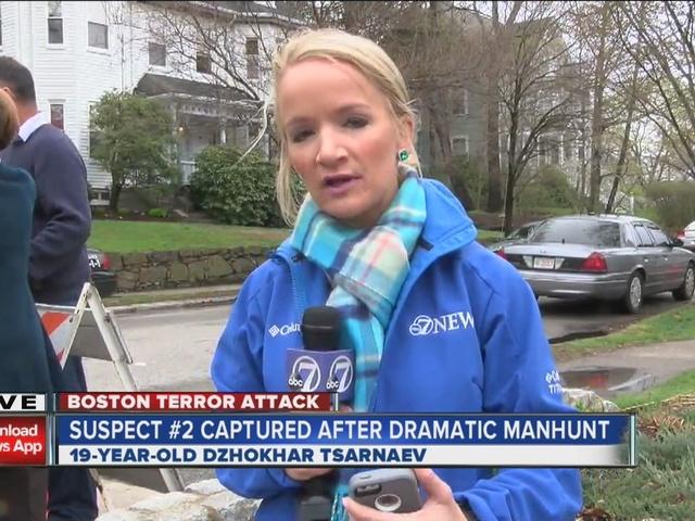 Dzhokhar Tsarnaev captured; Boston celebrates