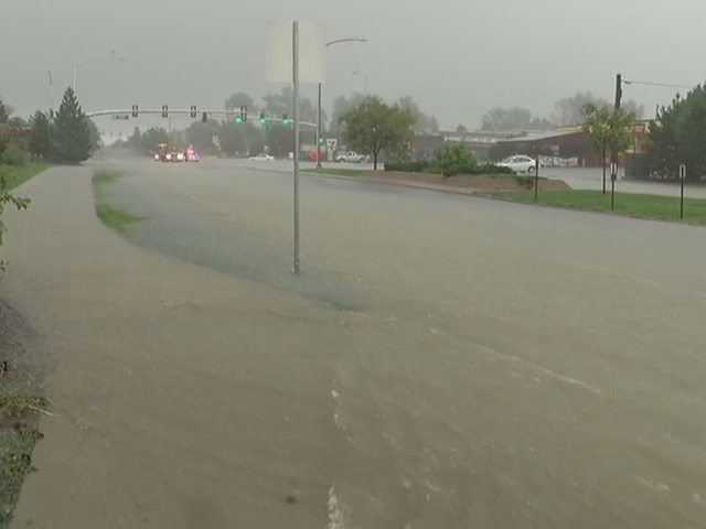 Flooding in Aurora and Loveland