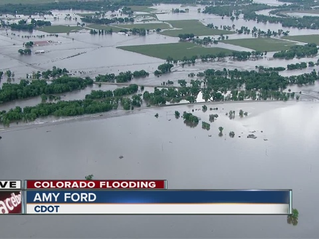 Flooding forces 10 evacuations in Weld County