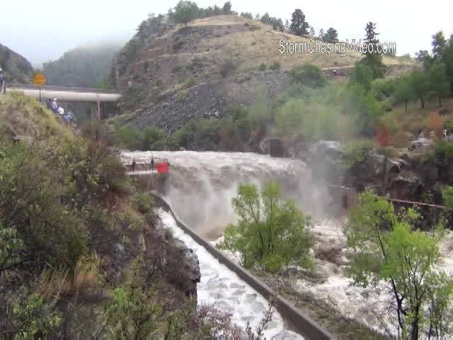 Flooding in Big Thompson Canyon