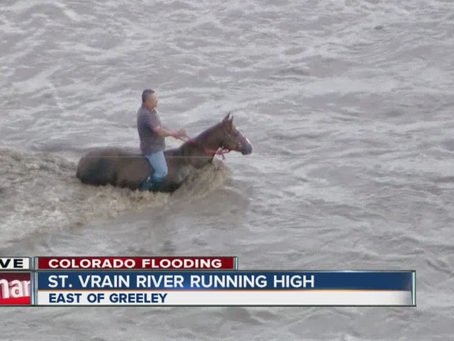 Widespread flooding in Greeley area