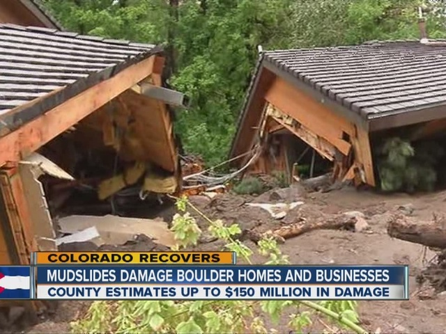 Dealing with flood damage daunting