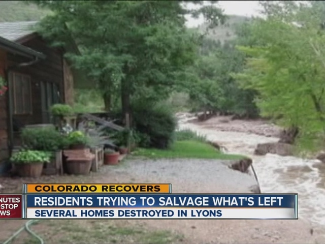 First flooding, now erosion threatening homes in Boulder County