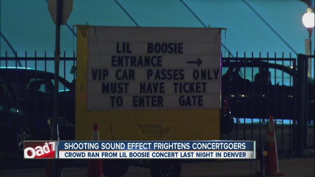 shooting sound effect sends lil boosie concertgoers running from