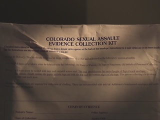 Colorado finishes testing backlogged rape kits