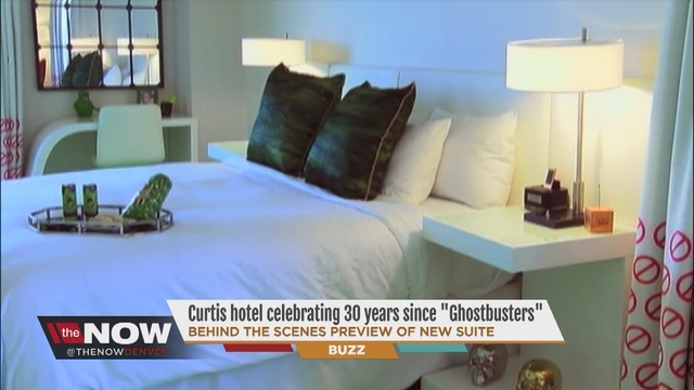 Charming Ghostbusters Themed Suite Unveiled At Denveru0027s Curtis Hotel
