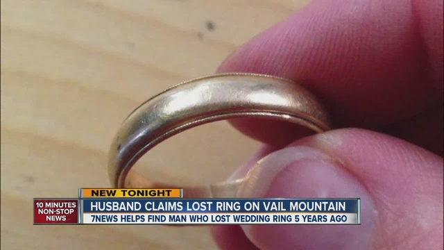 That Wedding Ring Found Under A Ski Lift In Vail It Was Lost 5 Yrs