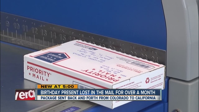 Aurora couple says USPS can't stop package from circling back and