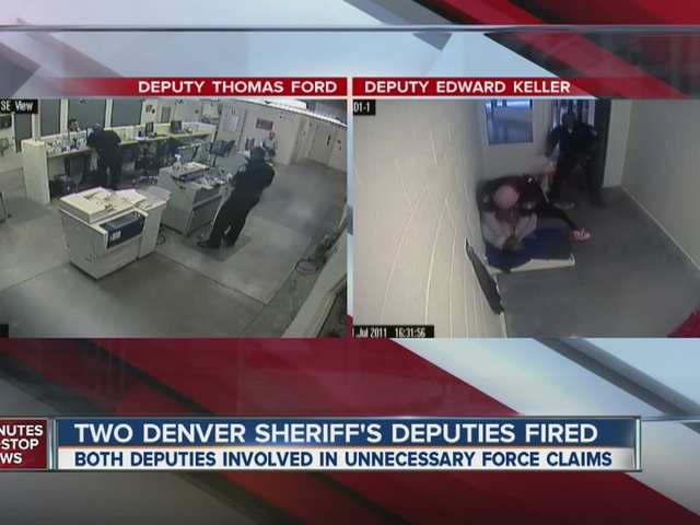 Two Denver Sheriff S Deputies Fired Thomas Ford And