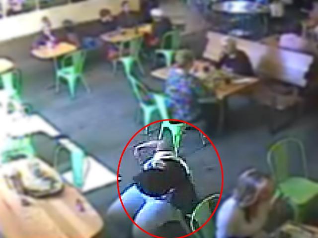 police brazen pickpocket caught on tape in california restaurant