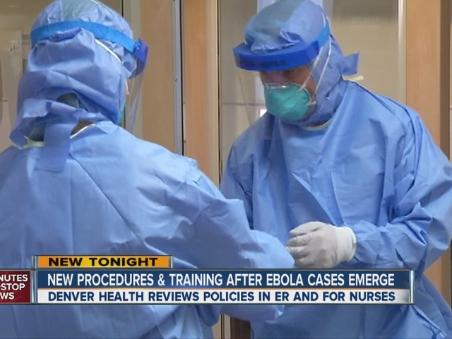 New procedures & training after Ebola cases emerge