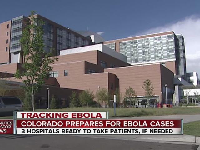 Colorado prepares for Ebola cases