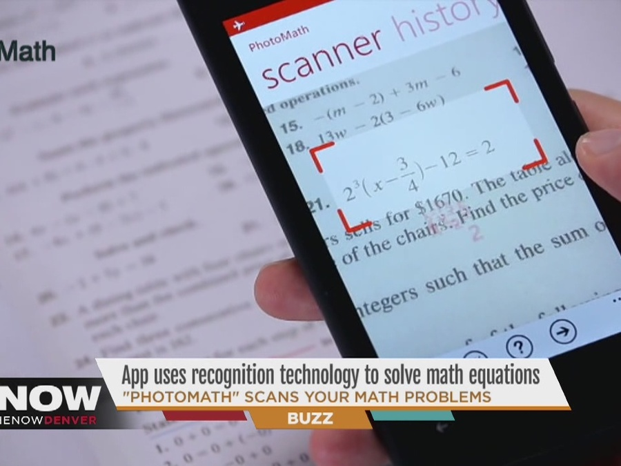 PhotoMath\' app uses recognition technology to solve your math ...