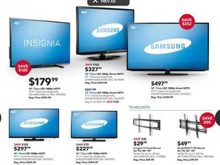 Black Friday Sales Top Tv Deals At Walmart Target Best Buy And