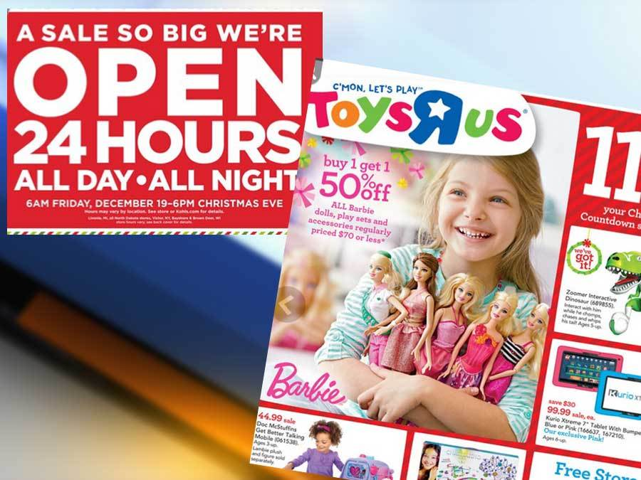 Kohls, Toys R Us offer all night shopping hours