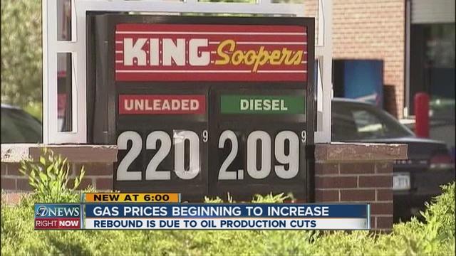 Denver Gas Prices >> Gas Prices Going Up But Not Too Far Denver7 Thedenverchannel Com