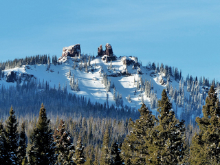 Colorado's Rabbit Ears Peak loses chunk of ear
