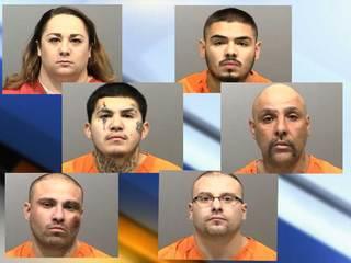 Pandilleros arrestados por crimen organizado