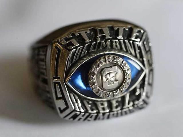 Evan Todd Columbine Ring