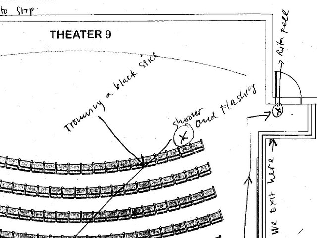 Court releases shooting survivors\' diagrams of what happened inside ...