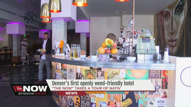 Nativ Denver S First Openly Weed Friendly Hotel Celebrates Grand Opening