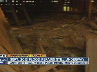 Work planned on Anne U White Trail, Walden Ponds