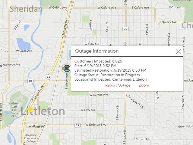 Xcel power outage repaired in Littleton - Denver7 TheDenverChannel.com
