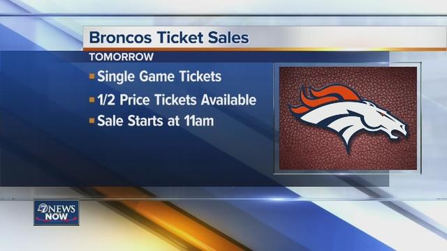 Deals on broncos tickets