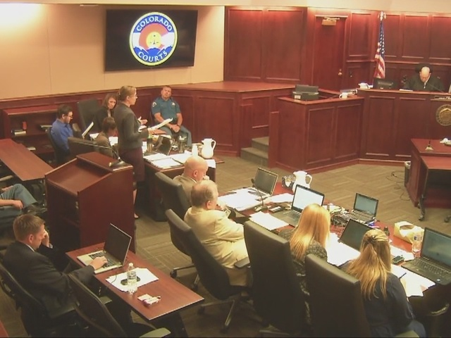 Aurora movie theater shooting gunman James Holmes appears more attentive…