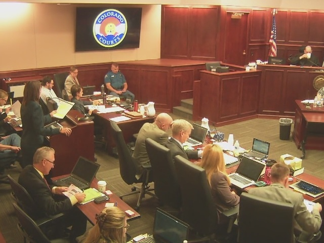 Theater shooting defense objects to prosecution's PowerPoint presentation