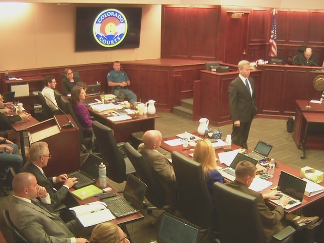 District Attorney presents argument in phase 2 of sentencing hearing for…
