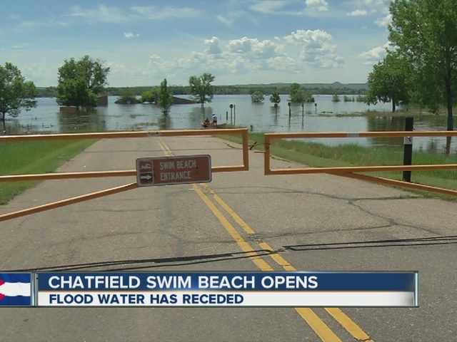 Chatfield State Park 39 S Swimming Beach Reopens After Flood Denver7