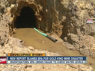 EPA pushed to repay costs of mine spill response