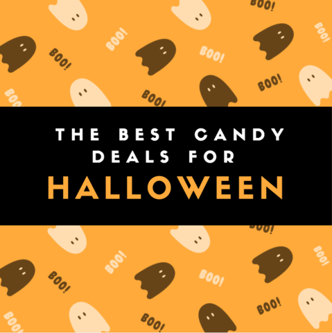 round up of the best halloween candy deals
