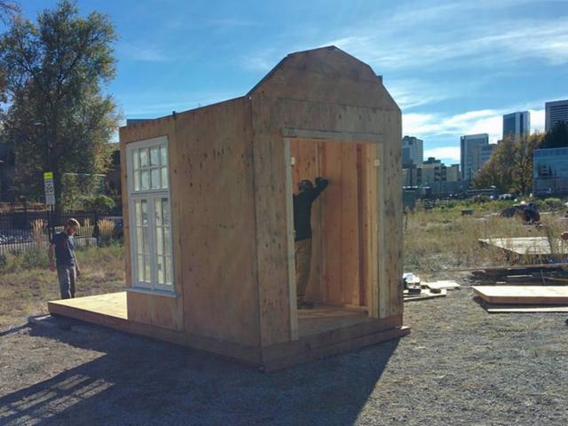 tiny house denver. 10 Arrested After Building \u0027tiny Homes\u0027 For The Homeless In Denver Park - Denver7 TheDenverChannel.com Tiny House