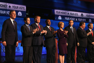Minute-by-minute breakdown of GOP debate