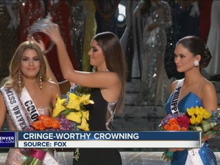 Miss Universe mistakenly crowns wrong winner