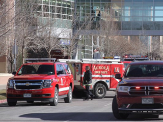 Sulfuric acid spilled on UCHealth campus