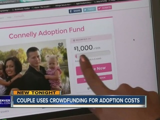 Couples turn to crowdfunding for adoption costs