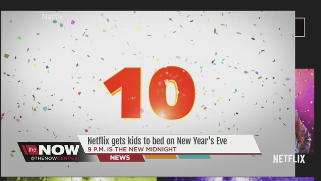Netflix releases early New Year\'s Eve countdowns for kids - Denver7 ...
