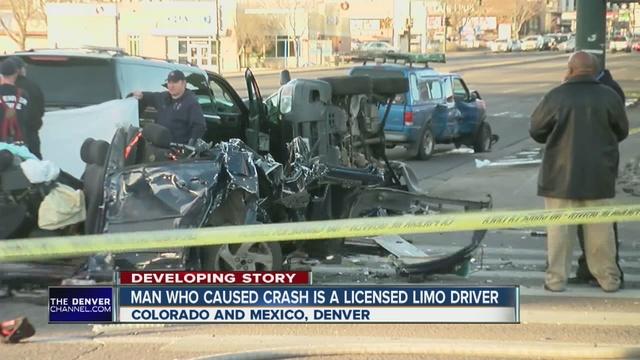 Denver Car Crash Colorado Blvd