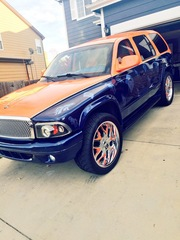 Broncos themed Dodge Durango is a winner