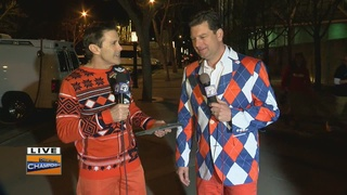 Our stylin' sports anchors cause stir at SB 50