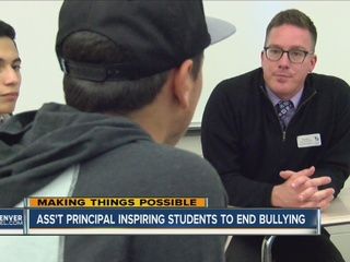 Columbine student's story inspires students