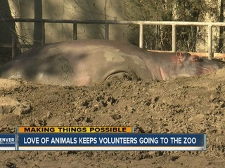 Talking to zoo visitors brings joy to couple