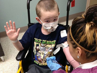 Skin condition turns Colo. boy to 'stone'